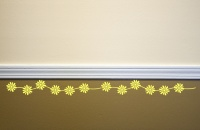 Daisy Chain Wall Sticker